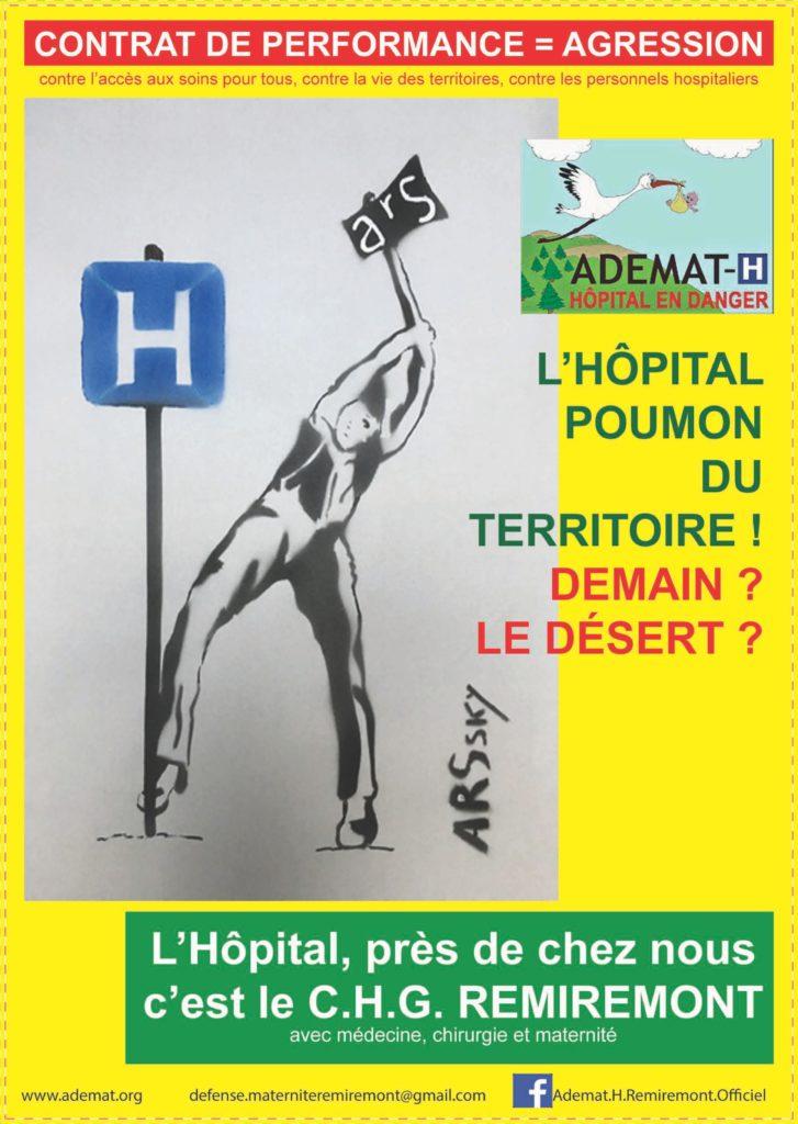 Hôpital de Remiremont = Poumon du territoire